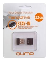 USB 2.0 QUMO 8GB NANO Black\White